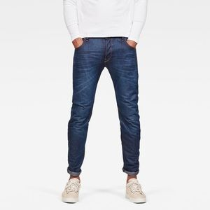 G-Star Raw Arc 3D Slim Original Denim Jeans Blue